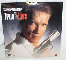 True Lies Laser disc Schwarzenegger