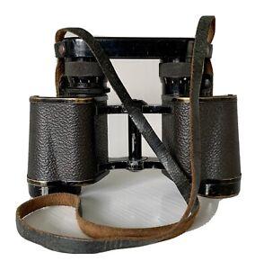 Military Binoculars BBT Krauss Paris 8x30 Grand champ decigrades Leather Strap