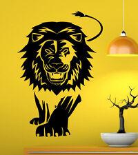 Lion Wall Decal Vinyl Sticker African Animals Home Interior Art Decor (4sfr1)