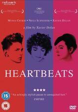 HEARTBEATS. A Xavier Dolan film. Gay interest. New Sealed DVD.