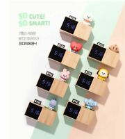 BT21 Baby LED Digital Desk Clock Official LINE FRIENDS X BTS Bangtanboys Goods