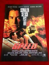 Speed Kinoplakat Poster A1, Sandra Bullock, Keanu Reeves, Dennis Hopper