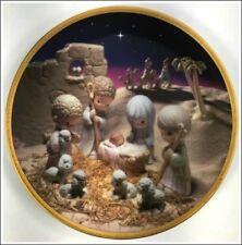 Unto Us A Child Is Born The First Annual Precious Moments Classic Nativity Plate