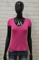 Maglia CHAMPION Donna Taglia Size XS Maglietta Shirt Woman Cotone Manica Corta