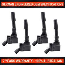 4 x Ignition Coil Audi A3 A4 A5 1.8L 2.0L Volkswagen Golf 2.0L GTi Skoda Octavia