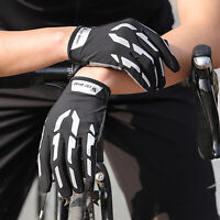 Radfahren Handschuhe MTB Motorrad Touchscreen Volle Finger Biking Handschuh