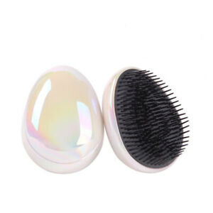 Detangling Hair Comb Glitter Massage Hair Brush Scalp Styling Comb Barber Brush