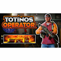 Black Ops Cold War Exclusive Totinos Operator Skin + Calling Card+ 2XP (2 codes)