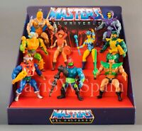 MASTERS DEL UNIVERSO.MASTERS OF THE UNIVERSE. MOTU. CUSTOMIZED DISPLAY STAND.