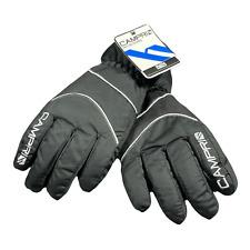 CAMPARI Boy's Ski Gloves Size: L Junior - Black | NEW
