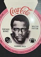 1976 Coke Bears Discs Walter Payton Chicago Bears HOF  PSA 10 Potential LOW POP