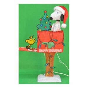 "ProductWorks Product Works 70327 32"" Snoopy On Mailbox"