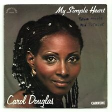"CAROL DOUGLAS Vinyl 7"" 45 tours  MY SIMPLE HEART   RARE"