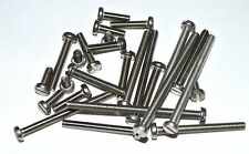 METRIC STAINLESS CHEESE HEAD SLOTTED MACHINE SCREWS M3X35 PKG OF 25 RC