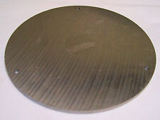 "2 Aluminum Discs, 3/8"" thick x 14 3/8"" dia., Mic-6 Cast Tooling Plate, Disk"