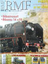 RMF - Rail Miniature Flash n°499 - Réseau Sebaincourt - Rèseau 14+18 [TR.31]