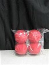 "Magic Trick Sponge Balls - Goshman - 2.5"" - Red"