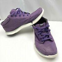 Teva Wander Chukka Purple Casual Canvas Sneakers Shoes Womens Size 8 SN 1007767