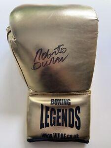 Boxing Roberto Duran Signed Boxing Glove