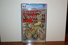 ARCHIE GIANT SERIES MAGAZINE #2 1955 ARCHIE ARCHIE'S CHRISTMAS STOCKING CGC 4.0