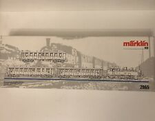M01 Marklin AC H0 2865 DRG with Br 75 and 3 coaches