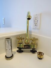 New listing High Quality Price Fister Solid Brass Pretty Wet Bar Faucet with Cross Handles