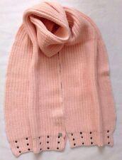Lipsy Scarves Stud Knit Scarf One Size Pink