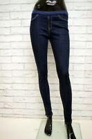 Jeans SILVIAN HEACH Leggings Donna Taglia S Pantalone Pants Woman Cotone Skinny