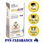 Bravecto Yellow for Very Small Dogs - 2 - 4.5 kg - Single Chew - Flea & Tick
