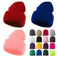 e46d24aa380 Men Women Plain Cap Beanie Cap Knit Ski Baggy Slouchy Army Hip Hop Winter  Hats