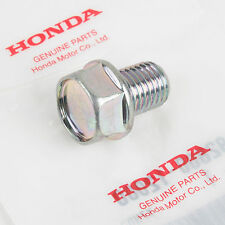 Genuine OEM Honda Oil Drain Bolt CB350F CB400F CB500 CB550 CB750, 92800-12000