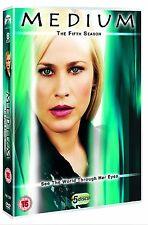 MEDIUM COMPLETE SERIES 5 DVD Fifth 5th Season Five Patricia Arquette UK NEW R2