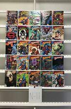 Superman 591-615 Dc 25 Lot Comic Book Comics Set Run Collection Box