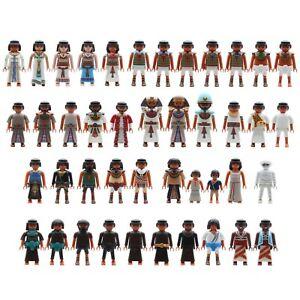 Playmobil Egyptians Cleopatra Pharaoh Soldiers Priest Grabräuber Roman Mummy