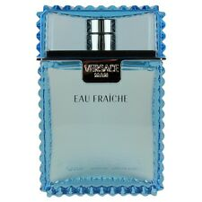 Versace Eau Fraiche by Versace for Men  Aftershave Splash 3.4 oz. NEW