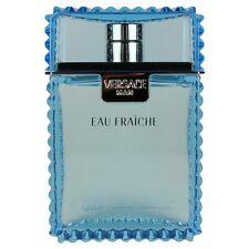 Versace Eau Fraiche by Versace for Men  Aftershave Splash 3.4 oz. NEW