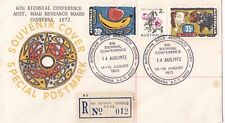 Postmark 6th Road Research Board Australia on souvenir cover APM4700 registered