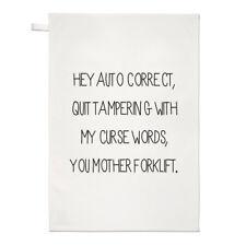 AUTO corretto asciugamani Dish Cloth-Ortografia Grammatica il controllo ortografico Divertente