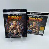 Jumanji The Next Level (4k Ultra HD Blu Ray + Digital + Slipcover Sleeve, 2020)