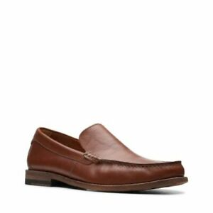 Clarks Men ** Pace Barnes Premium , Slip On Loafer Footbed ** UK 9,10,11 G