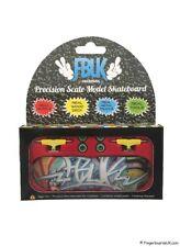 FBUK Fingerboard 30mm Setup Real Wood Deck, Bearing Wheels, Tech Deck, Design 17