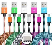 3x Typ C USB-C USB Kabel Ladekabel Datenkabel Smartphone Samsung S8 Huawei P9 2m