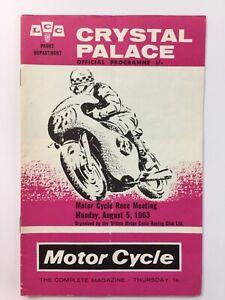 Crystal Palace Motor Cycle Meeting 1963