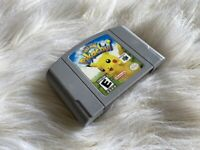 Hey You Pikachu! (Nintendo 64 N64 Game) Cartridge Only Authentic Tested Working