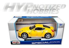 MAISTO 1:24 2009 NISSAN 370Z DIE-CAST YELLOW 31200