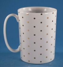 Lenox Kate Spade Everdone Lane Gold Small Polka Dot Coffee Mug NWT