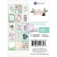 "Prima Marketing Havana 3""x4"" Journaling Note Card Pad 597696"