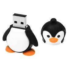 4GB Novedad Lindo Negro con blanco Bebe Pinguino USB 2.0 Unidad de flash P4M2