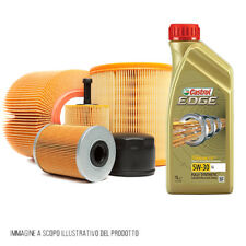 Kit tagliando olio CASTROL 5W30 5LT 4 FILTRI SEAT ALTEA 1.9 TDI 66 KW KF0006/fo
