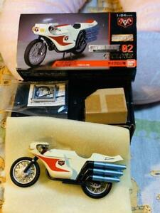 BANDAI HG series Metal Mecha Collection 02 Kamen Rider Cyclone Used W/box JPN